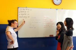 Learning English at IH Bangkok